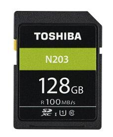 東芝 TOSHIBA SDXCカード SD-LUシリーズ<N203> SD-LU128G [128GB /Class10][SDLU128G]
