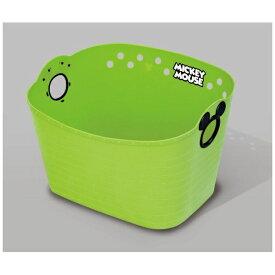 錦化成 nishiki ミッキーマウス やわらかバケツ SQ16 グリーン グリーン