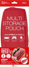 アンサー Answer Switch用 マルチ収納ポーチ レッド ANS-SW063RD【Switch】