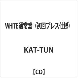 ソニーミュージックマーケティング KAT-TUN/WHITE 通常盤(初回プレス仕様) 【CD】