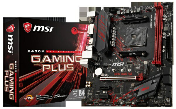 MSI エムエスアイ B450M GAMING PLUS [MicroATX /AM4]