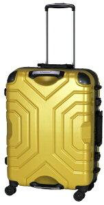 エスケープ ESCAPE スーツケース ハードフレーム 52L ヘアラインイエロー B5225T-58HYE [TSAロック搭載]