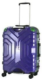 エスケープ ESCAPE スーツケースハードフレーム B5225T-58PU/GR パープル [52L]