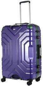 エスケープ ESCAPE スーツケースハードフレーム B5225T-67HPU/GR パープル [83L]