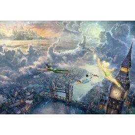 テンヨー ジグソーパズル D-1000-031 ディズニー Tinker Bell and Peter Pan Fly to Never Land(1000ピース)