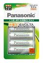 パナソニック Panasonic BK-3MLE/4BC 単3形 充電池 EVOLTA(エボルタ)スタンダードモデル [4本][BK3MLE4BC]