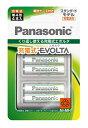パナソニック Panasonic BK-4MLE/4BC 単4形 充電池 EVOLTA(エボルタ)スタンダードモデル [4本][BK4MLE4BC]【rb_pcp】
