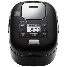 パナソニック Panasonic 炊飯器 Jconcept(Jコンセプト) シャインブラック SR-JW058-KK [圧力IH /3合][SRJW058]