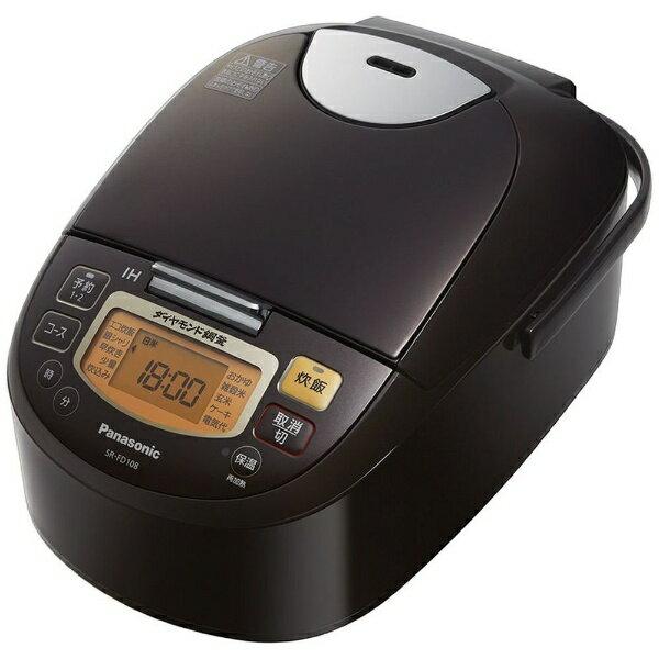 パナソニック Panasonic SR-FD108 炊飯器 ブラウン [5.5合 /IH][SRFD108]