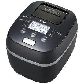 タイガー TIGER JPJ-A060-KS 炊飯器 炊きたて シルキーブラック [3.5合 /圧力IH][JPJA060KS]