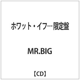 ビクターエンタテインメント Victor Entertainment MR.BIG/ホワット・イフ… 限定盤 【CD】