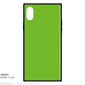 アピロス apeiros EYLE TILE GREEN for iPhone X PEI08TLGR GREEN