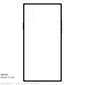 アピロス apeiros EYLE TILE WHITE for iPhone X PEI08TLWH WHITE