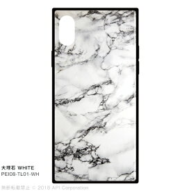 アピロス apeiros EYLE TILE 大理石 WHITE for iPhone X WHITE