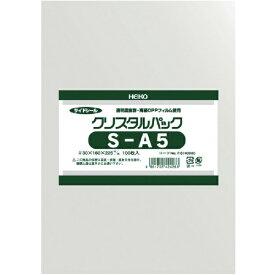 シモジマ SHIMOJIMA HEIKO OPP袋 テープなし クリスタルパック S−A5
