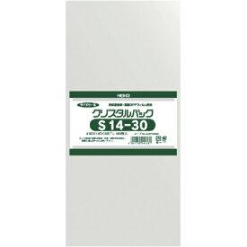 シモジマ SHIMOJIMA HEIKO OPP袋 テープなし クリスタルパック S14−30