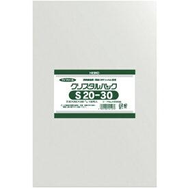 シモジマ SHIMOJIMA HEIKO OPP袋 テープなし クリスタルパック S20−30