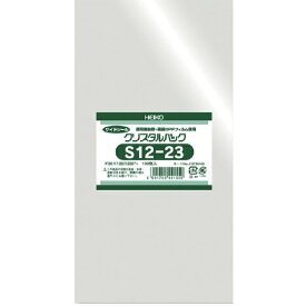 シモジマ SHIMOJIMA HEIKO OPP袋 テープなし クリスタルパック S12−23