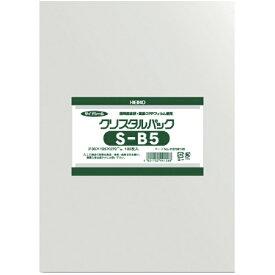 シモジマ SHIMOJIMA HEIKO OPP袋 テープなし クリスタルパック S−B5