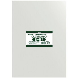 シモジマ SHIMOJIMA HEIKO OPP袋 テープなし クリスタルパック S−B4