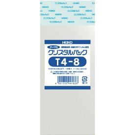 シモジマ SHIMOJIMA HEIKO OPP袋 テープ付き クリスタルパック T4−8