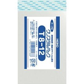 シモジマ SHIMOJIMA HEIKO OPP袋 テープ付き クリスタルパック T8−12