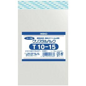 シモジマ SHIMOJIMA HEIKO OPP袋 テープ付き クリスタルパック T10−15