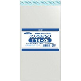 シモジマ SHIMOJIMA HEIKO OPP袋 テープ付き クリスタルパック T14−26