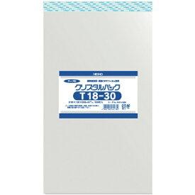 シモジマ SHIMOJIMA HEIKO OPP袋 テープ付き クリスタルパック T18−30