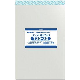 シモジマ SHIMOJIMA HEIKO OPP袋 テープ付き クリスタルパック T20−30