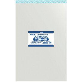 シモジマ SHIMOJIMA HEIKO OPP袋 テープ付き クリスタルパック T26−40