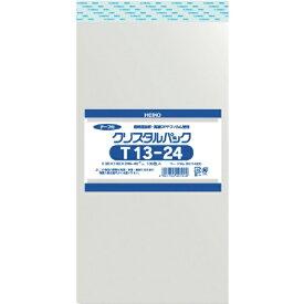 シモジマ SHIMOJIMA HEIKO OPP袋 テープ付き クリスタルパック T13−24