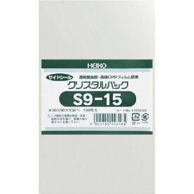 シモジマ SHIMOJIMA HEIKO OPP袋 テープなし クリスタルパック S9−15