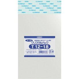 シモジマ SHIMOJIMA HEIKO OPP袋 テープ付き クリスタルパック T12−18