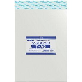 シモジマ SHIMOJIMA HEIKO OPP袋 テープ付き クリスタルパック T−A5
