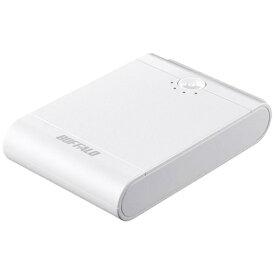 BUFFALO バッファロー モバイルバッテリー ホワイト BSMPB13418P2 [13400mAh /2ポート /充電タイプ]