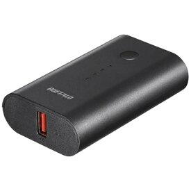BUFFALO バッファロー モバイルバッテリー ブラック BSMPB6728P1 [6700mAh /1ポート /充電タイプ]