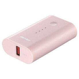 BUFFALO バッファロー BSMPB6728P1 モバイルバッテリー ピンク [6700mAh /1ポート /microUSB /充電タイプ]