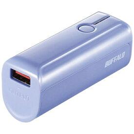 BUFFALO バッファロー モバイルバッテリー ブルー BSMPB3318P1 [3350mAh /1ポート /充電タイプ]