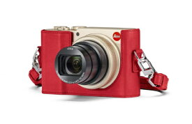 ライカ Leica C-LUX用レザープロテクター 18850 レッド