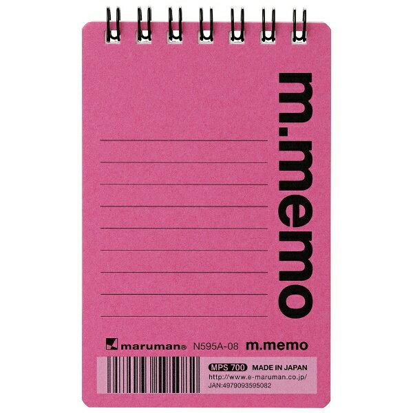 共和文具 [メモ帳]エムメモ M.C.B. 1961(A7・6mm罫・50枚) 5067 ピンク
