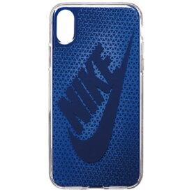 ナイキ NIKE iPhone X用 NIKE GRAPHIC SWOOSH ケース DG0027-918F シグナルブルー/ジムブルー
