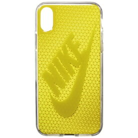 ナイキ NIKE iPhone X用 NIKE GRAPHIC SWOOSH ケース DG0027-933F ブライトシトロン/ダークシトロン