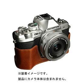 Ya Mei Technology ヤ メイ テクノロジー OLYMPUS E-M10III用カメラボディケース TPCHOEM10MK3BR TPCHOEM10MK3BR ブラウン