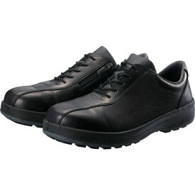 シモン Simon シモン 耐滑・軽量3層底安全短靴8512黒C付 23.5cm
