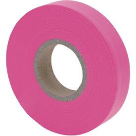 シンワ測定 Shinwa Rules シンワ マーキングテープ15mmx50m_蛍光ピンク