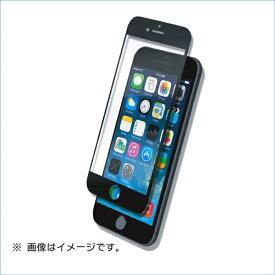 マイキー iPhone8(7)Plus用液晶保護ガラスシートフルカバータイプ ダブルハードクリアー B04-33301BK