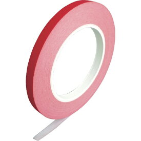 オカモト okamoto オカモト 紙バックシーリングテープ 紙封栓 9×50 赤