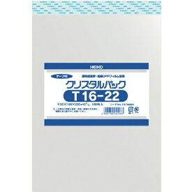 シモジマ SHIMOJIMA HEIKO OPP袋 テープ付き クリスタルパック T16−22