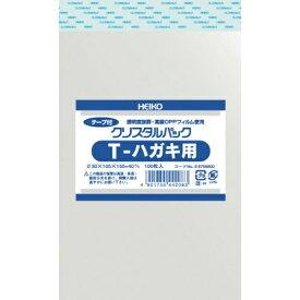 シモジマ SHIMOJIMA HEIKO OPP袋 テープ付き クリスタルパック T−ハガキ用